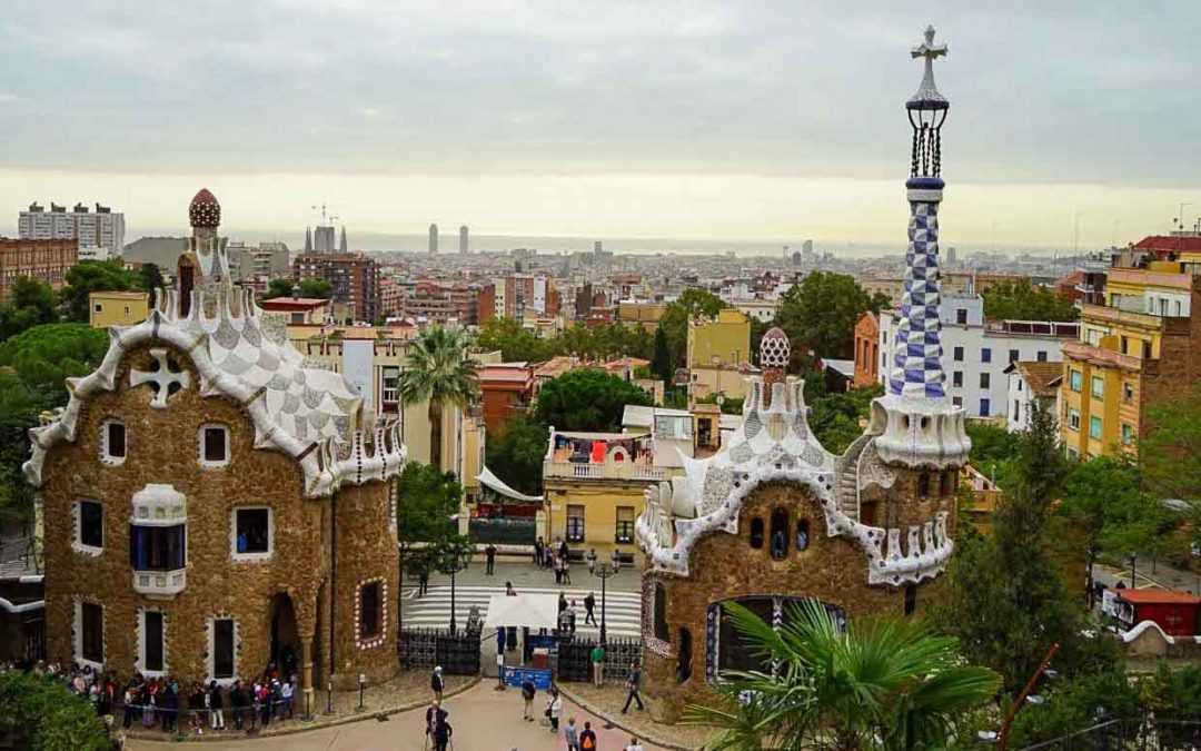 Old Ideas Reimagined: Gaudi's Garden Suburb – Park Guell (1900-14)