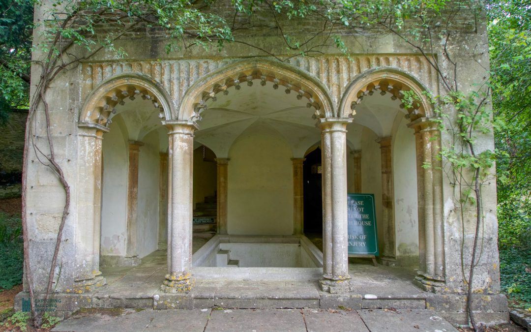 The Georgian Bath House at Corsham Court