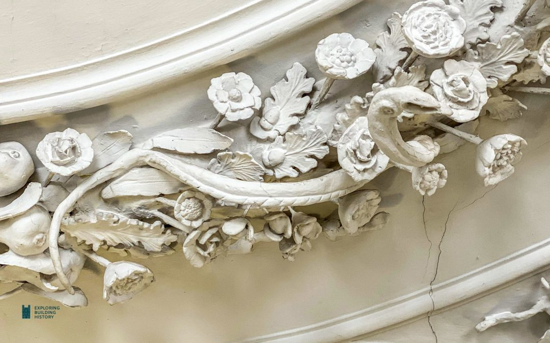 The English Baroque Plasterwork Garland