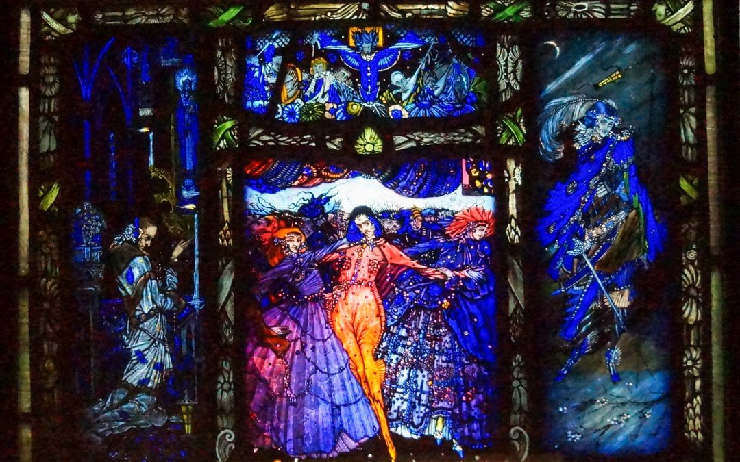 HARRY CLARKE: Genius of Stained Glass – The Eve of St Agnes, Salome's Shoes and Sturminster Newton