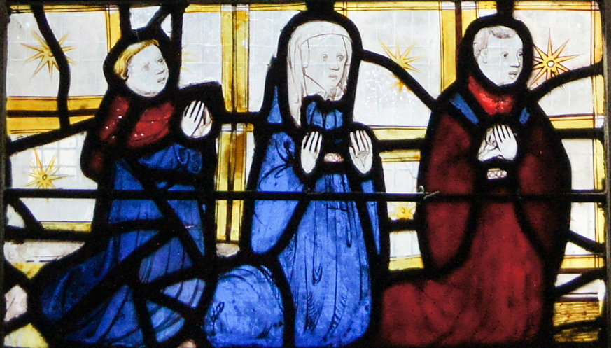 All Saints' Church, York: Pricke of Conscience Window – Morality in Stained Glass 15th-C Style