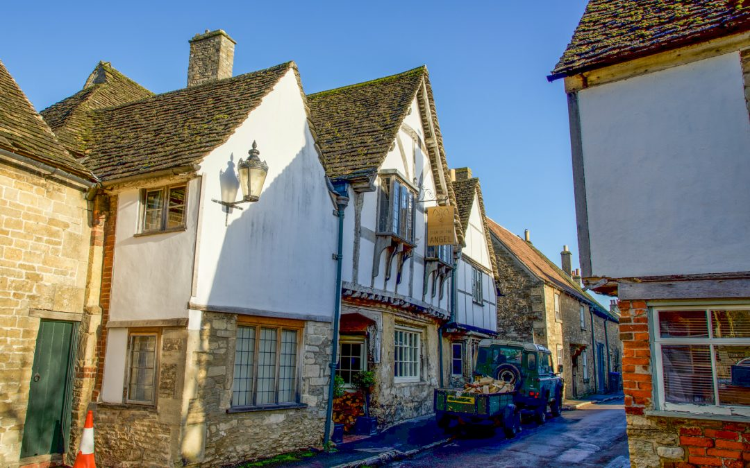 The Sign of the Angel at Lacock: Late 15th C Inn named after a gold coin