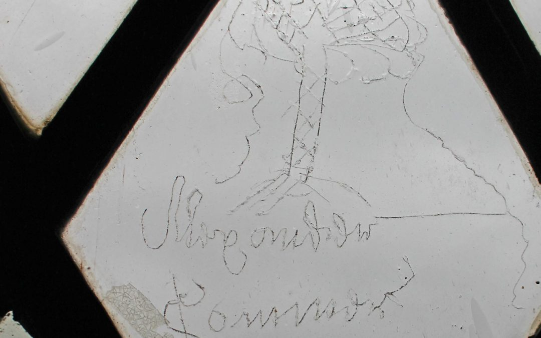 Montacute House: 17th C Graffiti – the Mythology of the 17th C Royal Oak & trees of the Monmouth Rebellion
