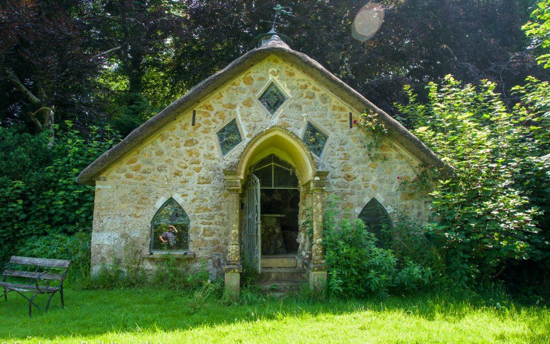 1828 Shell Grotto at Jordans, Somerset