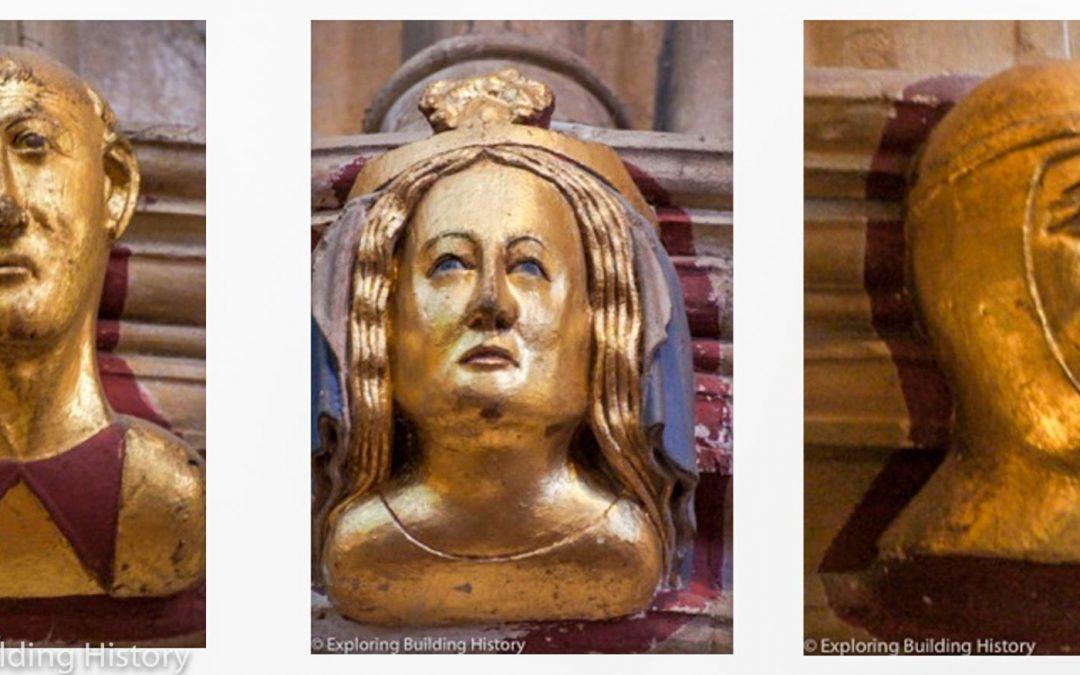 Tewkesbury Abbey: 14th C Faces